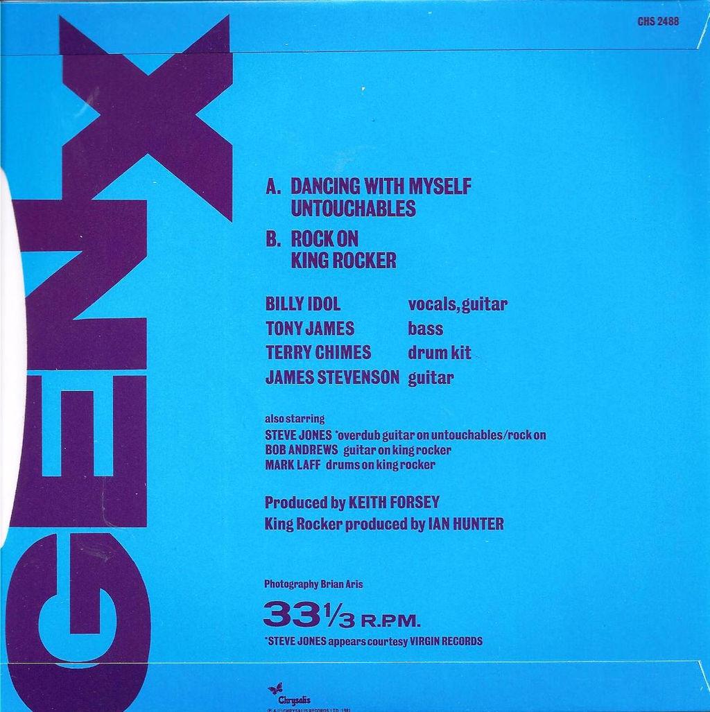 Gen X Dancing With Myself