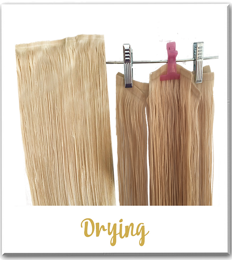 How to care for your extensions barely xtensions the ultra barely xtensions can be dried with a hair dryer but in order to preserve the lifespan of your extensions it is best to allow them to air dry pmusecretfo Image collections