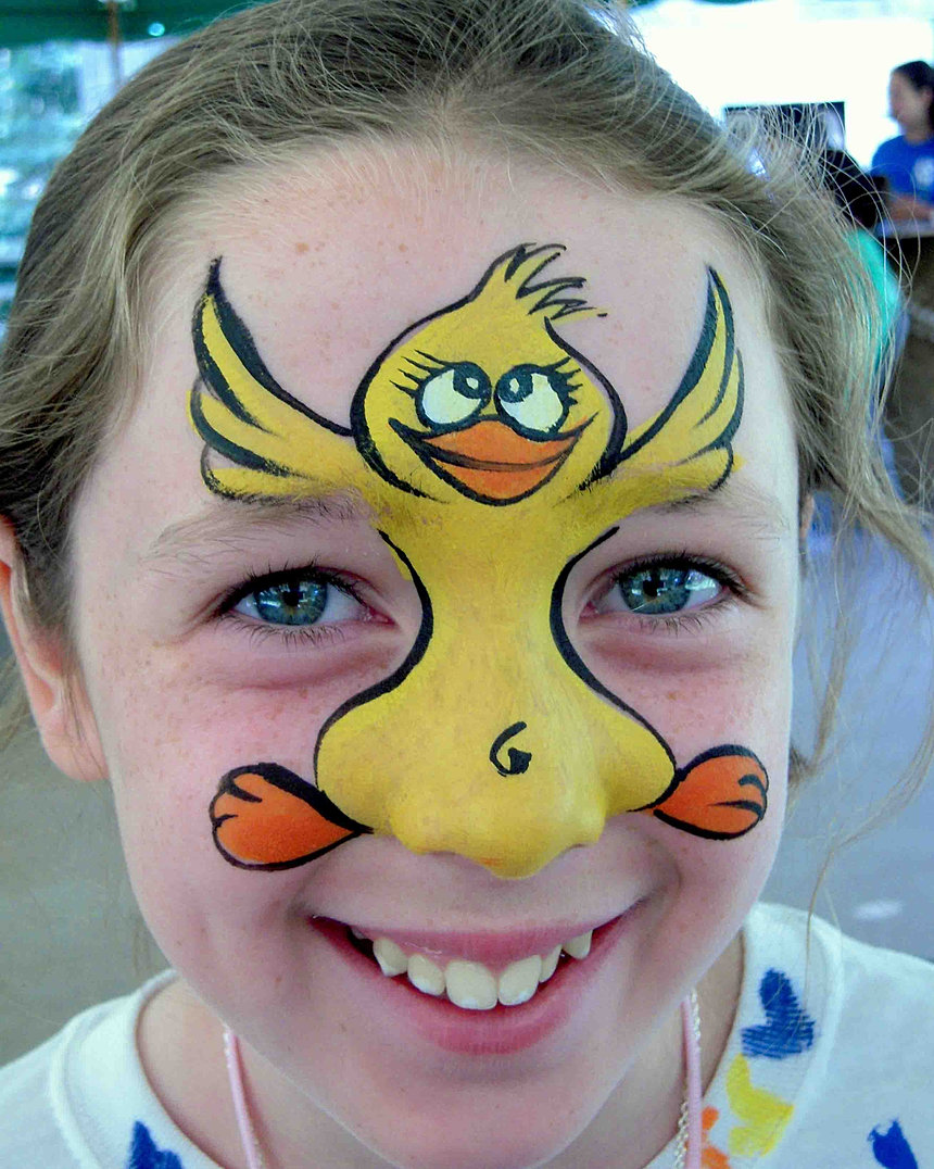 Face Painting Pollito