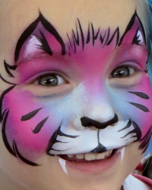Calico Face Paint