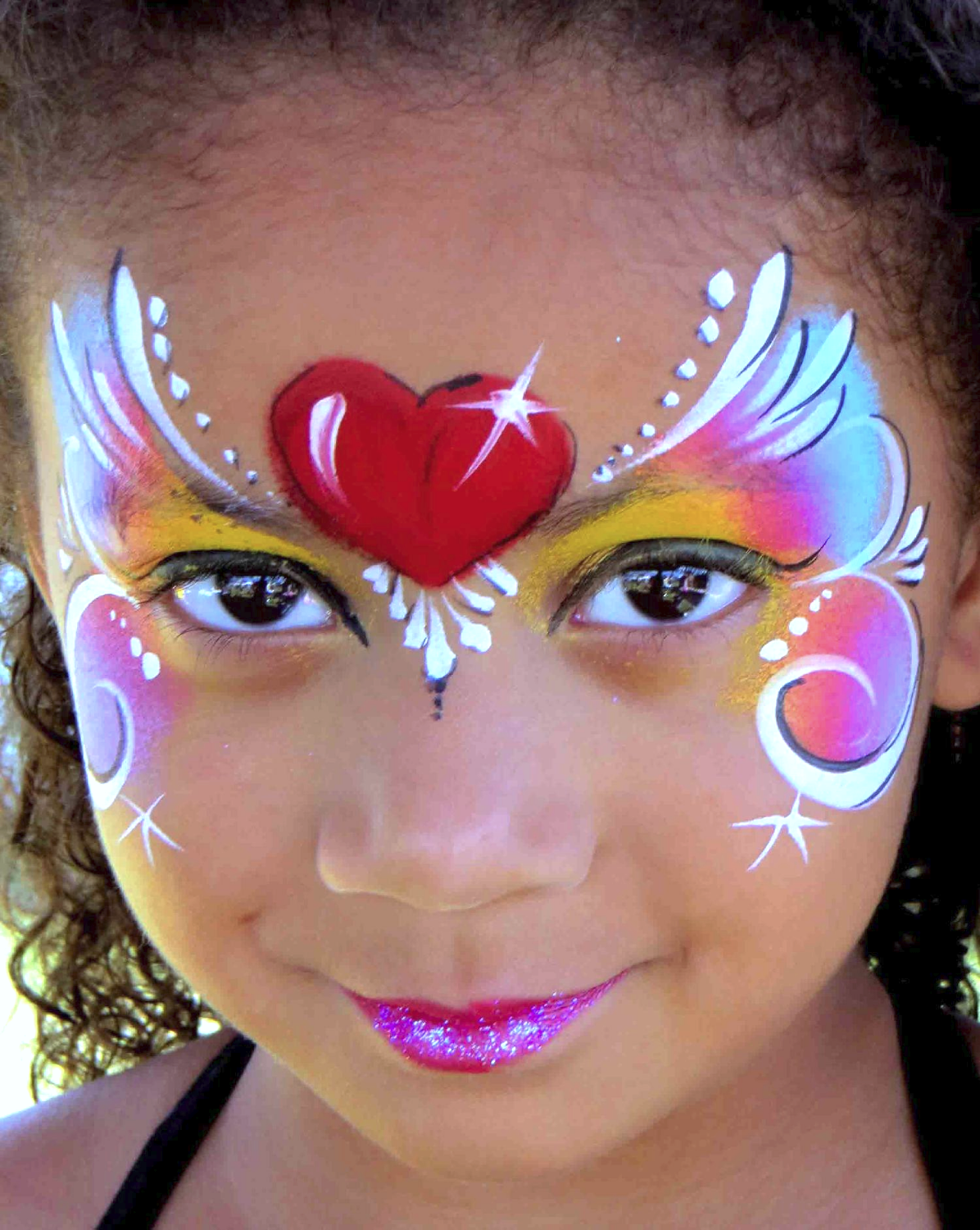 Dog Face Painting Designs For Kids Viewing Gallery