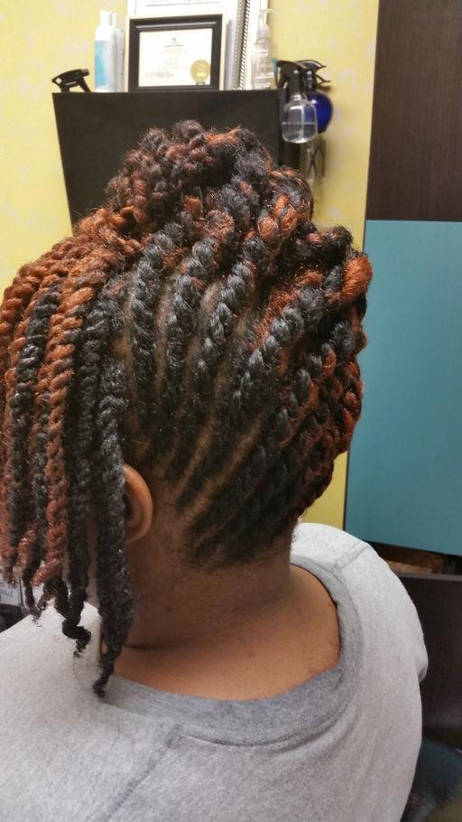Tans Natural Hair Care Hair Salon, Sisterlock Houston, Texas