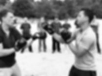 outdoor ving tsun training
