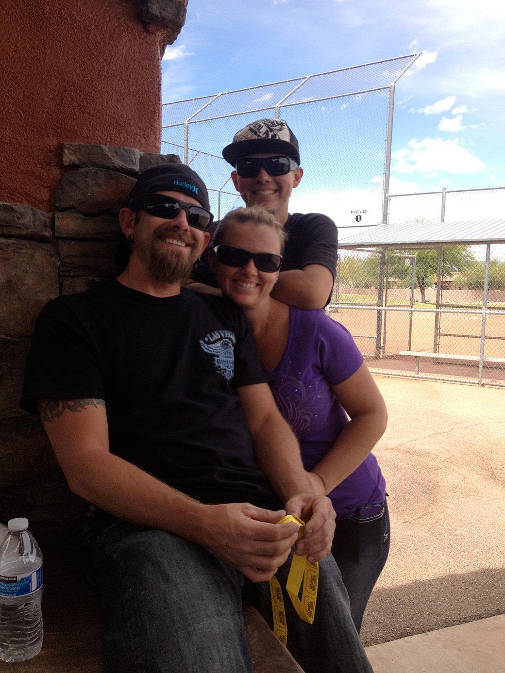 Eric, Kaye, & Garrett