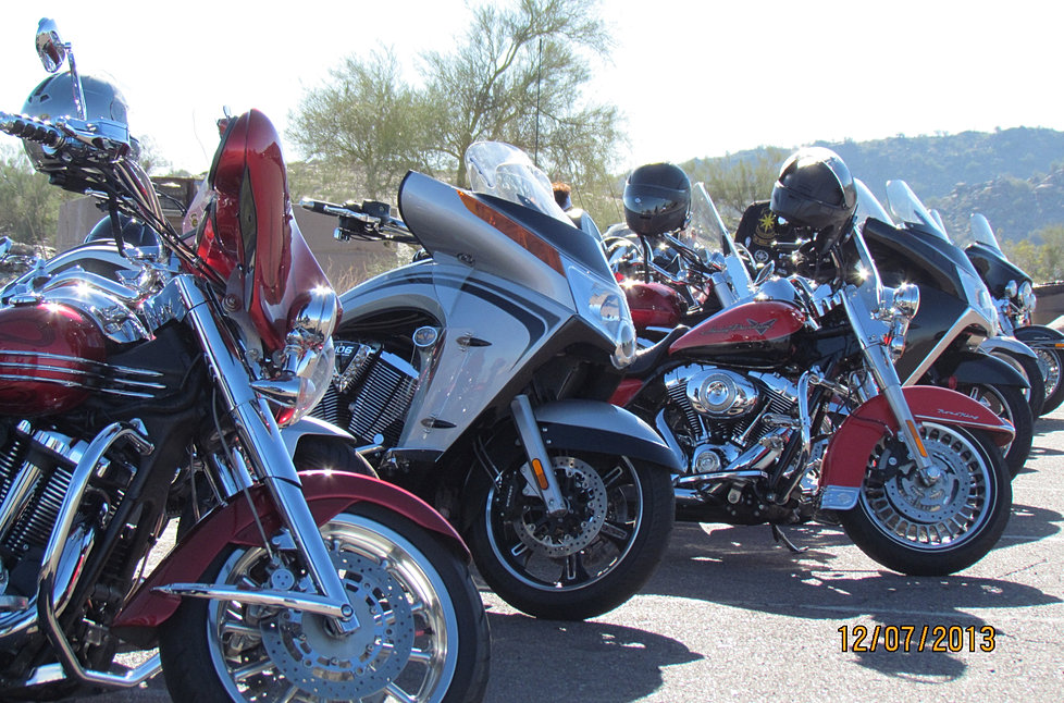 Some of the bikes