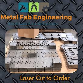 Laser Cut Mild Steel
