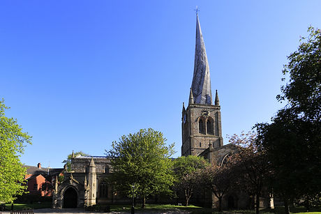 The Crooked Spire of St Mary and All sai