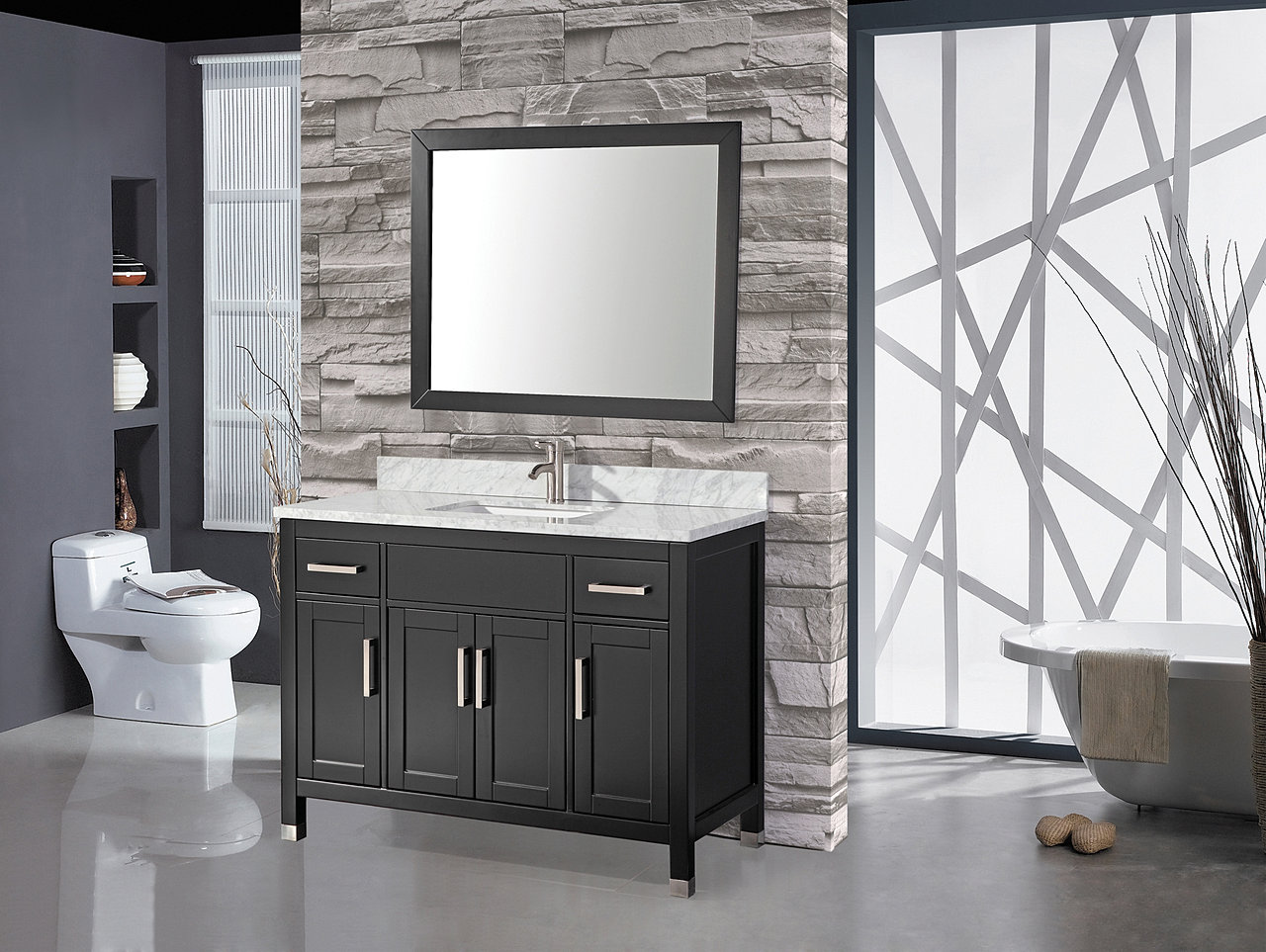 Exceptional Bathroom Vanities Fort Lauderdale #13: 36 Or 48 Carrera Top