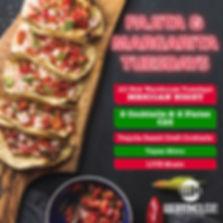 Fajita & Margarita Tuesdays - FB flyer-0