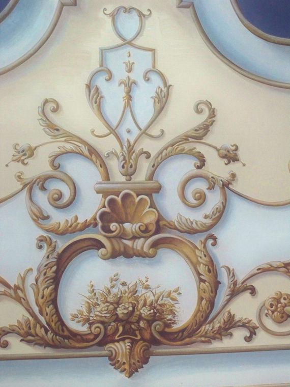 Michele pontillo laboratorio arte artigianato trompe - Cassapanca decorata ...