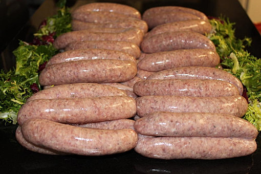 Homemade Traditional Sausages