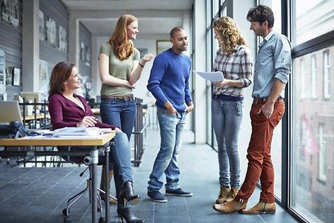 Studerende Diskussion af papir