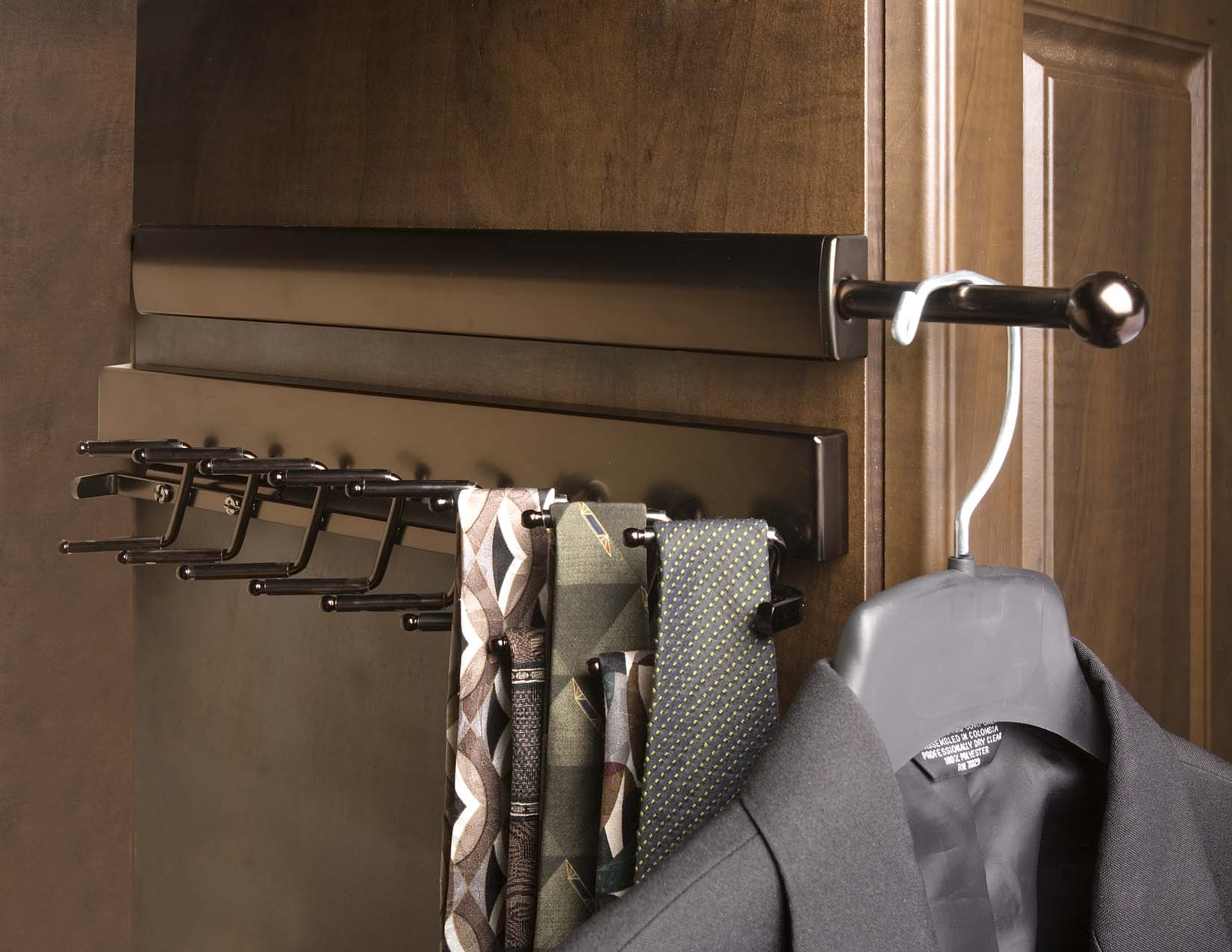 Product Announcement   Telescopic Valet Rods | Sidelines Inc. I Closet  Storage | United States | Home