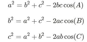 cosinus relationer