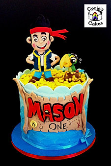 Kids Cakes by Coxies Cakes - Perth Cake Decorator