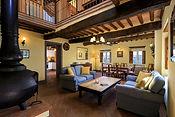 Sinfonia living room with wood burner.jp