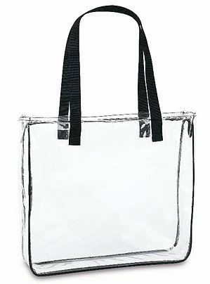 Crystal Clear Square Tote Bag CH-21