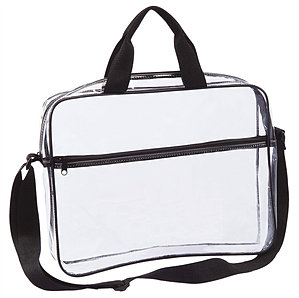 Clear Portfolio Briefcase CH-6003