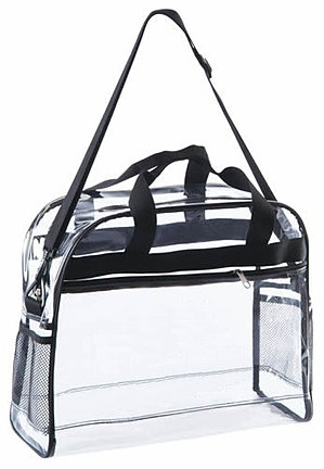 Large Clear Briefcase CH-4001