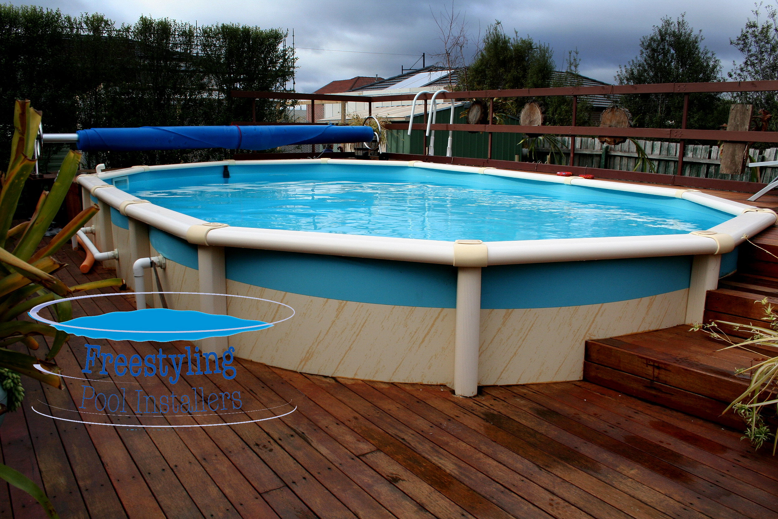 Freestyling Pool Installers Melton Melbourne Above