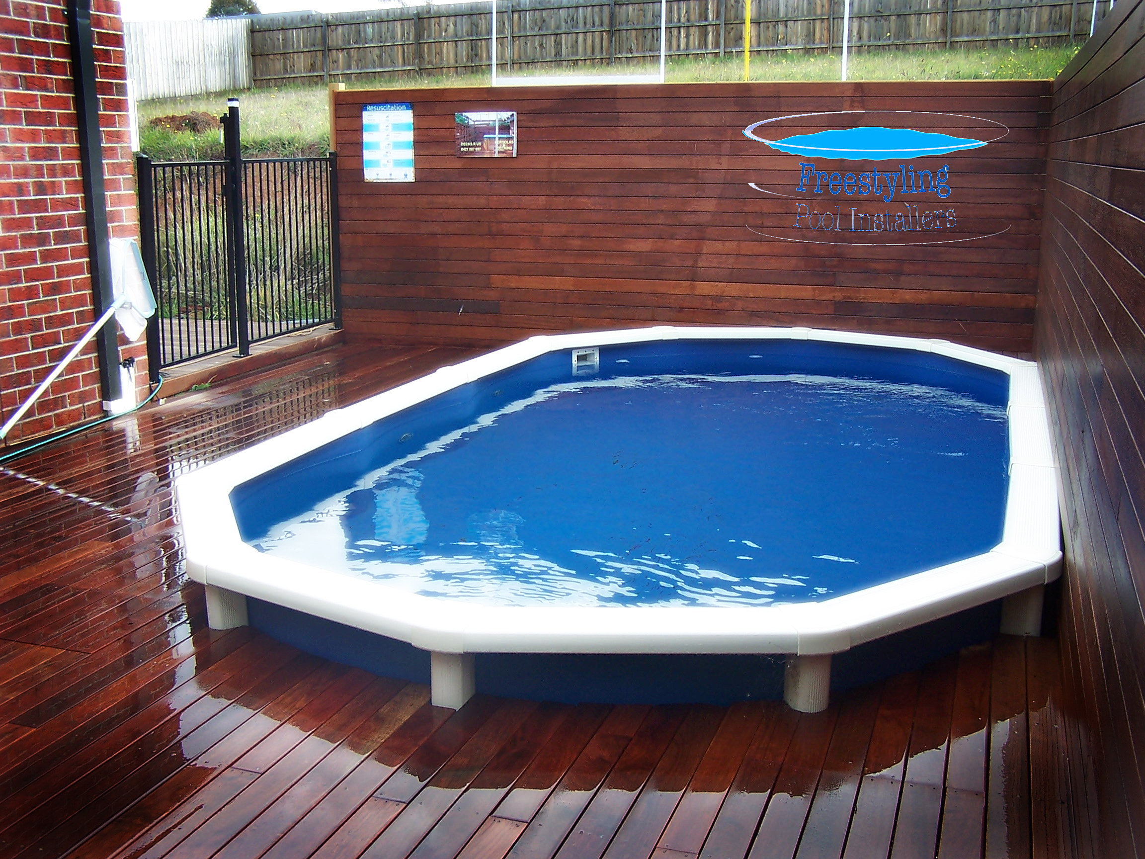 Freestyling Pool Installers Melton Melbourne Above Ground Pool