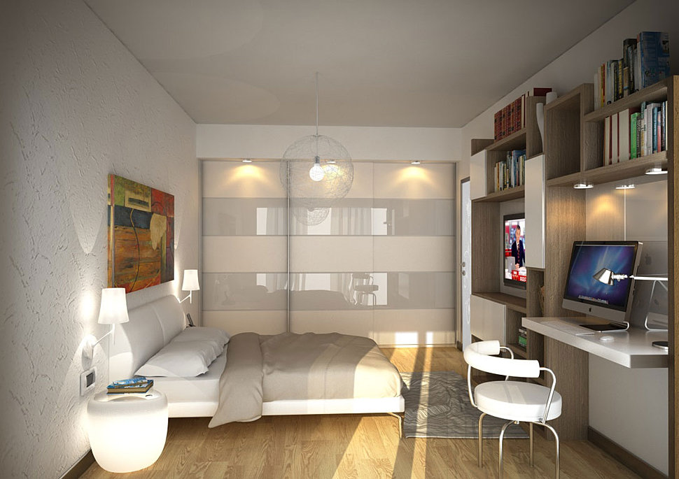 Da Letto Interior Design : Mezzettidesign render rendering interior ...