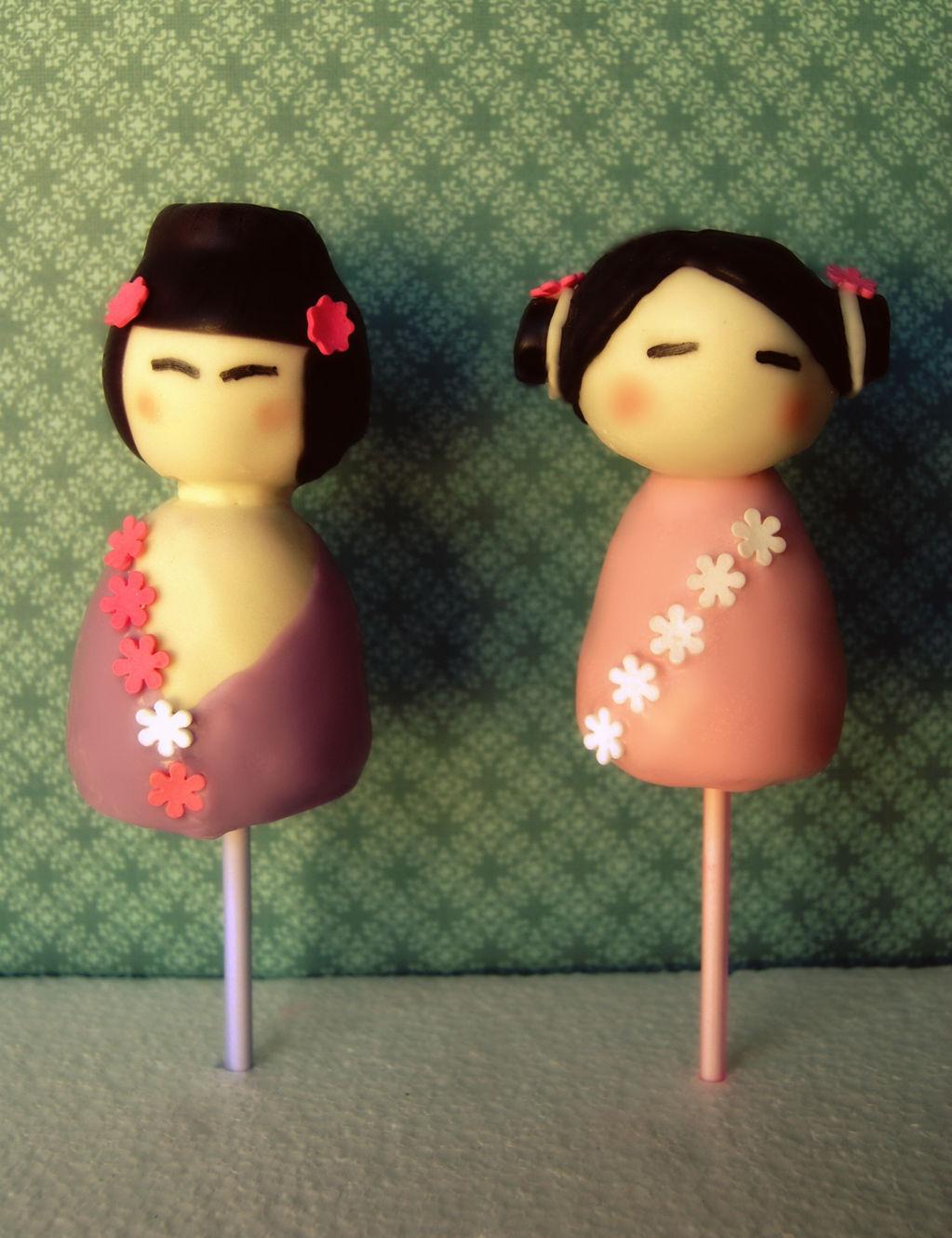 Doll cake pop