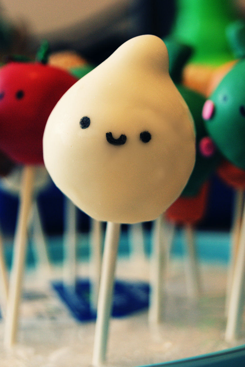 pearl onion cake pop