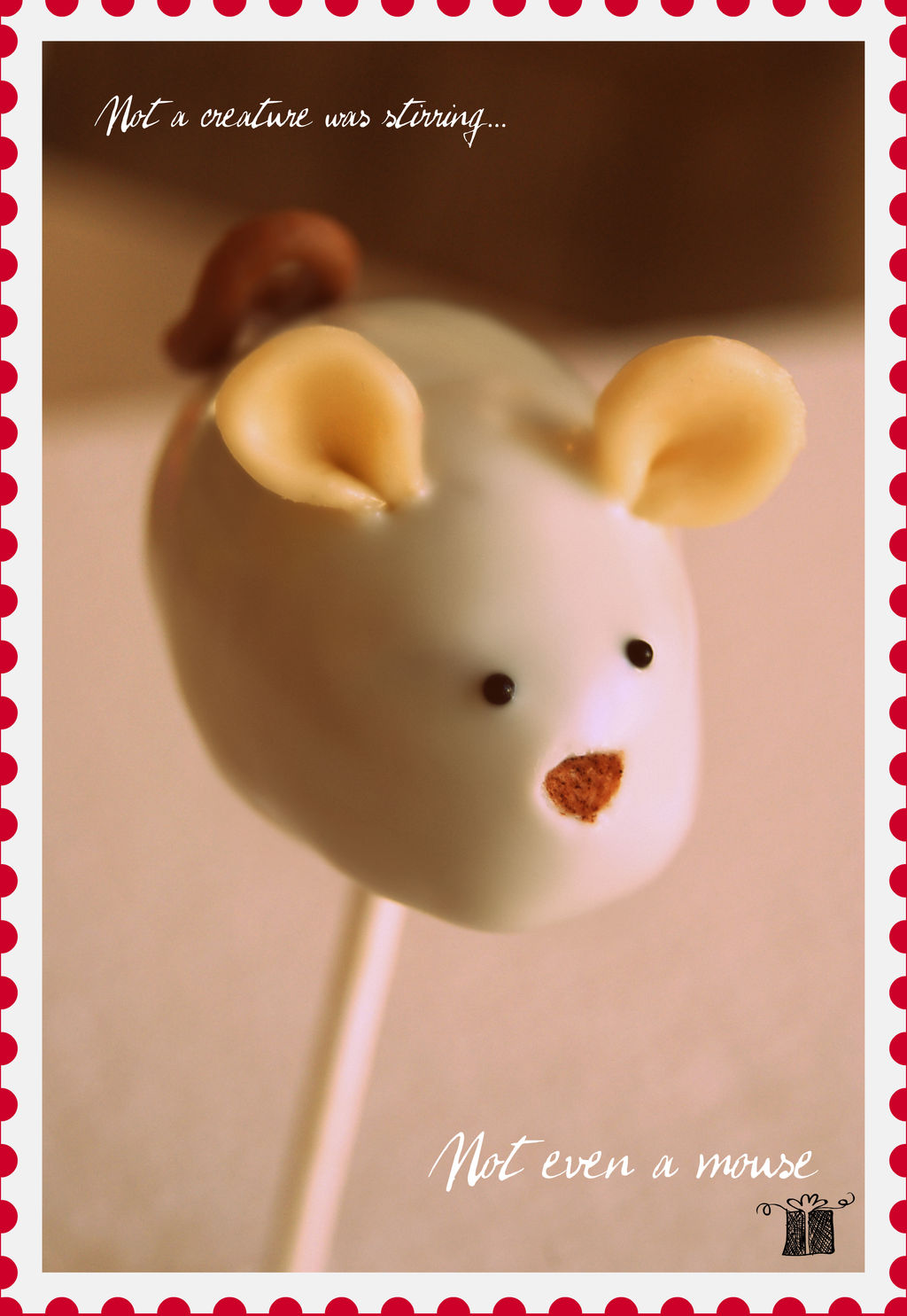 mouse cake pop