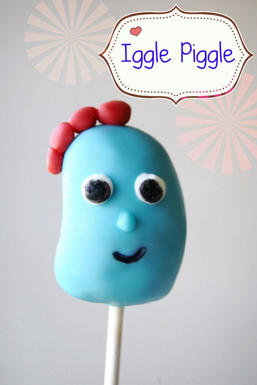 iggle piggle cake pop