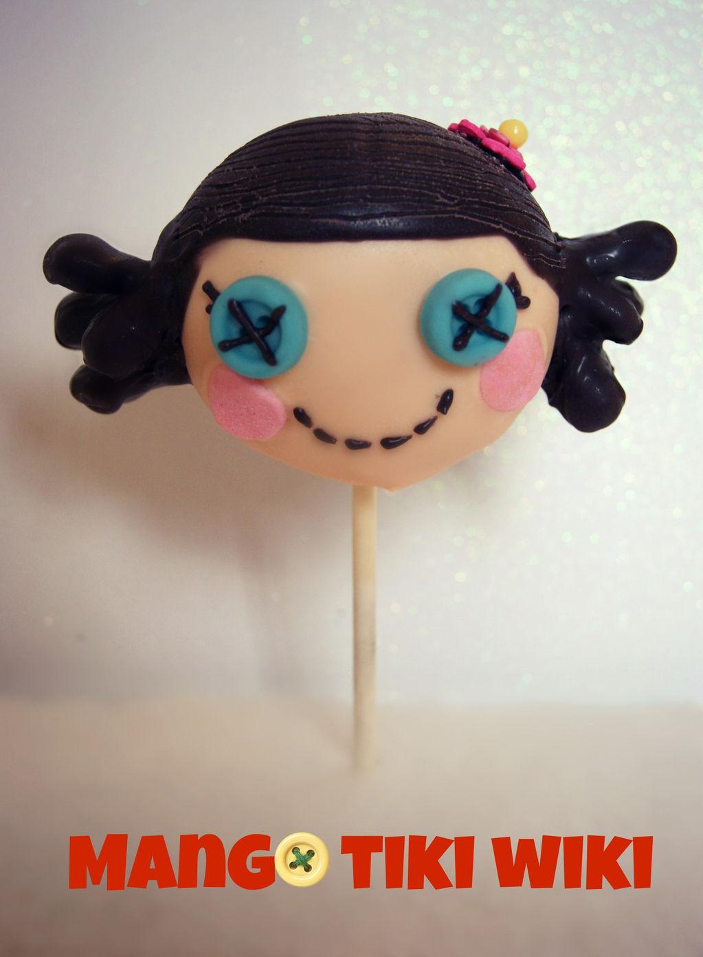 Lalaloopsy cake pop