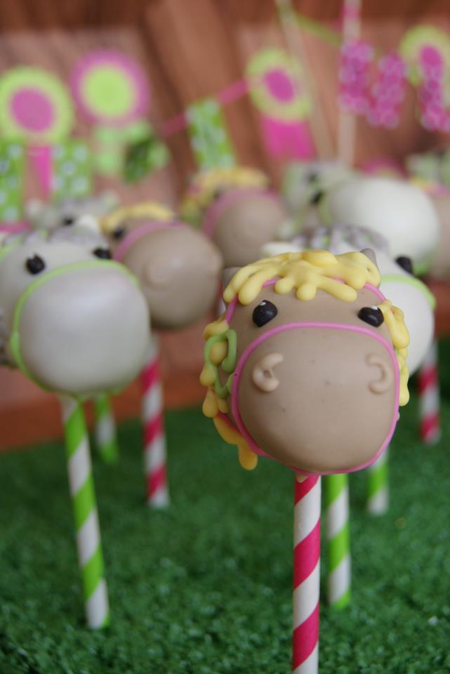 pony cake pop