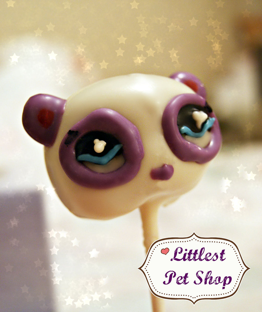 littlest pet shop cake pop