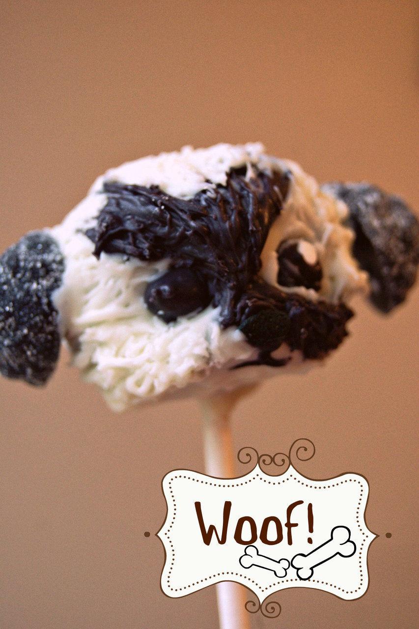 Shi-poo cake pop