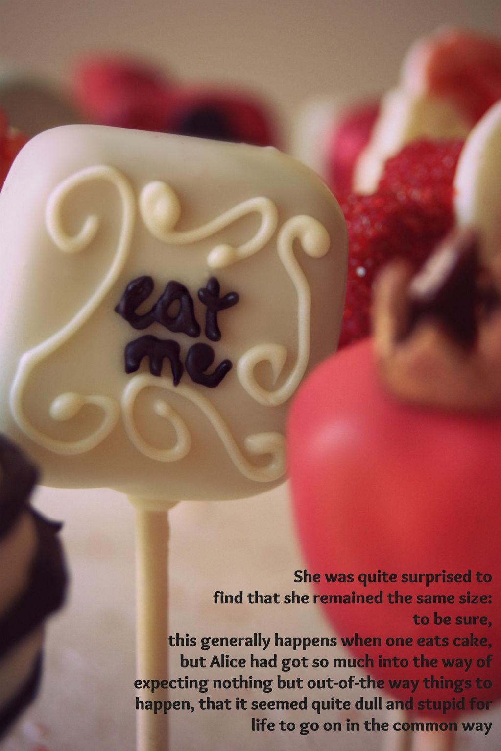 eat me cake cake pop