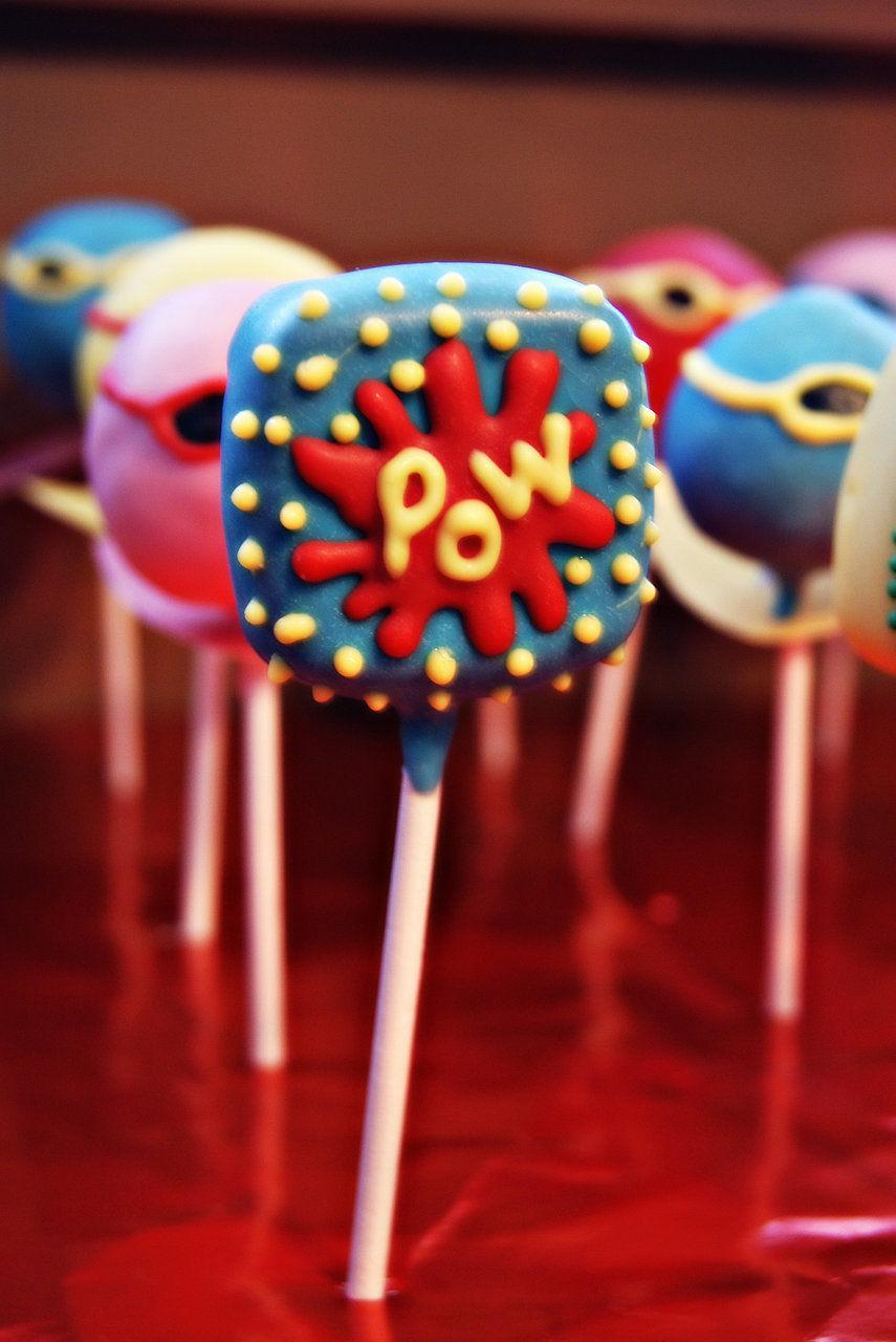 Pow cake pop