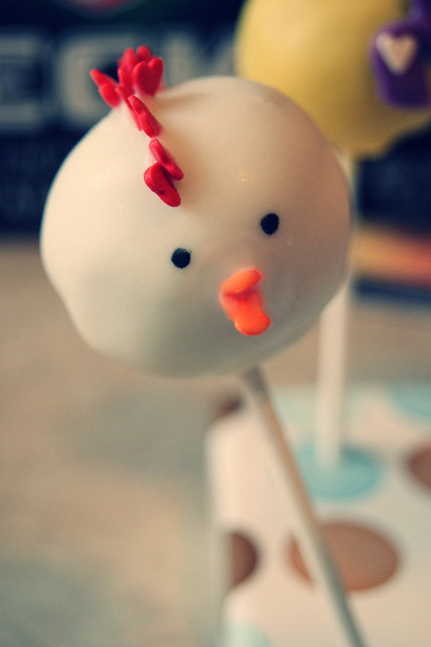 chicken cake pop
