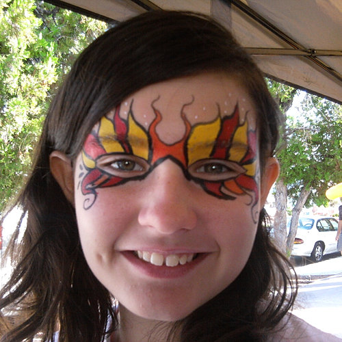 Mask for Face painting rates