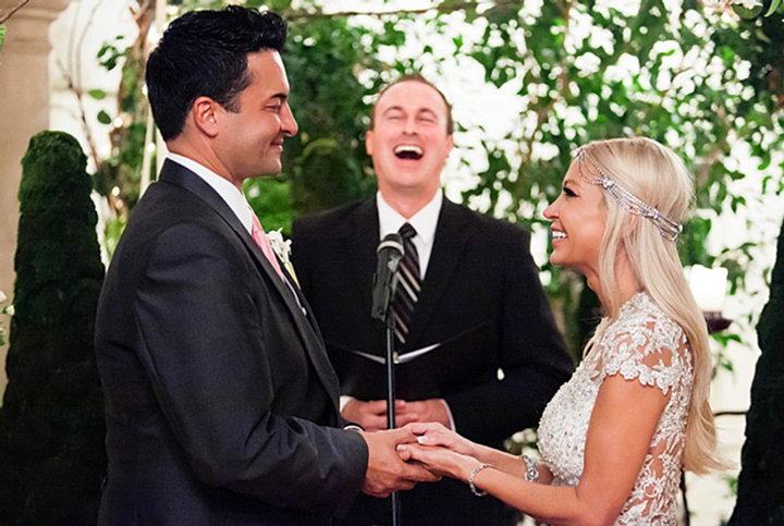 Survivor Sweethearts Tied the Knot in an Extravagant
