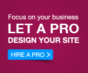 Let a pro design your site