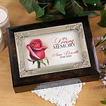 Rose Memorial Music Box