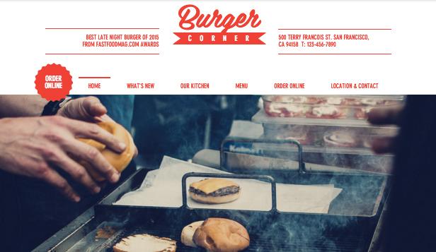 Rincón de la hamburguesa