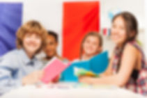 french courses for teens, french classes, learn french