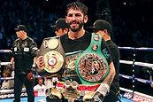 Jorge Linares at city boxing club las vegas