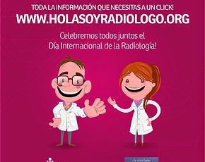 Hola soy radiologo