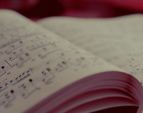 Partition, Solfège illustrant les cours de formation musicale à l'école de musique à Audincourt, Montbéliard