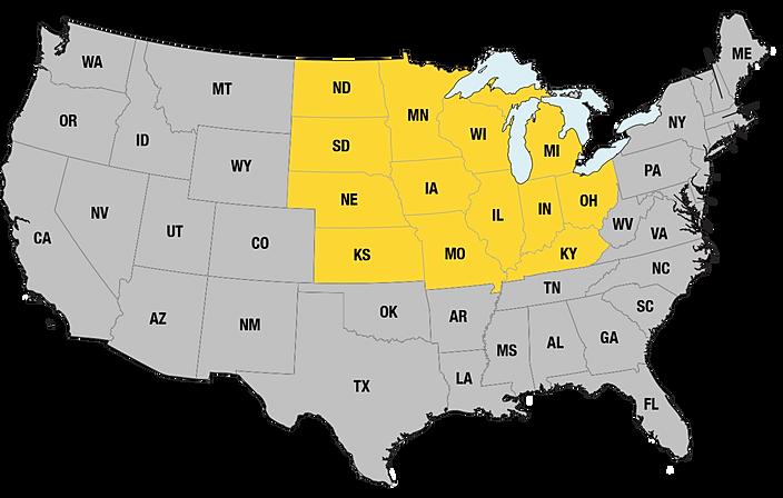 Iowa Michigan >> CSM Sales | TERRITORY