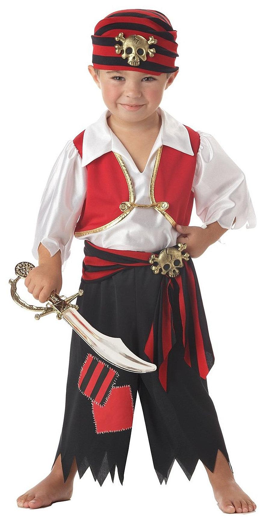 Карнавальный костюм пират своими руками