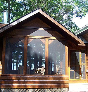 Timber shelters pergolas outdoor kitchens akeley mn for Timber frame screened porch
