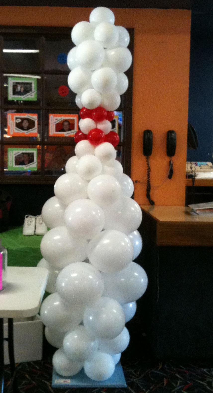 Bowling pin balloons - 8 Ft Bowling Pin